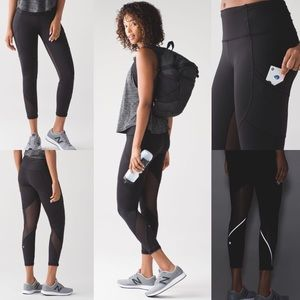 Lululemon outrun tight leggings size 10